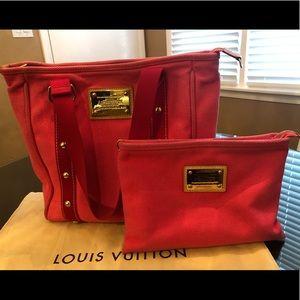 Louis Vuitton Cabas Rose Toile Antigua MM bag